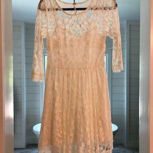 Free People lace dress, size 4